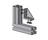 Druckguss, Aluminium, eloxiert, 4010 A 3060 EL 01,4010 A 4080 EL 01,4010 A 4590 EL 01