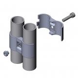 Parallelverbinder Paralelverbinder Doppelrohrverbinder