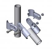 Gelenkverbinder 1-fach Rohr-Verbinder