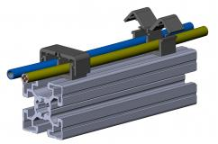 Kabelclip-2-Kammer