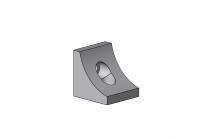 Eckwinkel, Nut 10, Aluminium, Magnesium, Silicium, F27, 4020 3836 EL 01, 4020 4340 EL 01, 4020 A 4846 EL, 4020 A 5856 EL 01