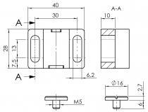 Magnetschließer, Magnetverschluss, Magnetverschlüsse, Magnet, Schließer, Verschluss, Schließmechanismuss, Schließmechanismen, Verriegelung, Riegel, rasten, Raster, Anschlag, Festmacher, Schnellverschluss,2220 K 0002 SW