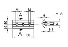 T-Nut, slot 10, block, 2-way,M6, screw,screws, headless, threaded pin,setscrew,M5, x12,M5x12, DIN 914, TecEnMa