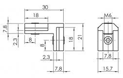 Nutwinkel-Nut-8-innen 4101-S-0801-VZ-01