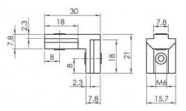 Nutwinkel-Nut-8 außen 4101-S-0802-VZ-01