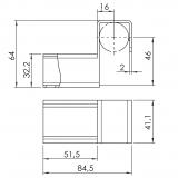 Röllchenleistenaufnahme-abgesenkt 5053-S-003-VZ-01